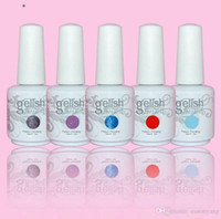 gelish nail polish - 12PCS high quality soak off led uv gel polish nail gel lacquer varnish gelish
