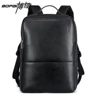 Wholesale Cool Book Bags - Wholesale- BOPAI 2016 New Arrival Mens Laptop Backpack Stylish Cool Backpack Korean Fashion Travel Backpack Durable Waterproof Book Bags