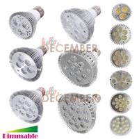 Wholesale Spotlight Led 18w - Dimmable PAR20 PAR30 PAR38 LED Bulb E26 E27 LED 9W 10W 14W 18W 24W 30W 36W LED Spotlight Light Lamp Bulbs