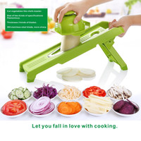 Wholesale Cooking Cutter - Vegetable slicers, Potato cutters, Kitchen tools, DIY cooking tools, Fruit slices, 304 stainless steel planers,Onion slicer.