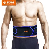 Venda por atacado- Fitness Fitness Professional Belt Weight Lifting Waist Gym Back Support Sports Belt Training Band Bodybuilding Strap Protector HY05