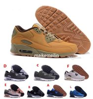 Wholesale Winter High Cut Running Shoes - High Quality New Suede Air Cushion Running Shoes 90 Men Women Sneakers Cheap Sports Shoe