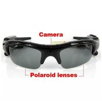 Wholesale Camera Lcd Spy - In stock!!! 8Gb Memory 4-in-1 Spy Sunglasses Sun Glasses Spy Sunglass Camera Video MP3 Bluetooth Spy Galsses
