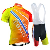 Wholesale Road Cycling Set Clothing - BXIO Brand Mountain Road Cycling Jerseys Summer Short Sleeve Set Outdoor Sport Bicycle Jerseys Breathable Quick Dry Bikes Clothes BX-100