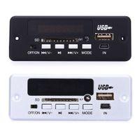 corte de tabla al por mayor-Mini Funcional 02EBT MP3 Car Decoder Board Bluetooth Llamadas manos libres Control remoto Función de memoria de corte de energía Envío gratis