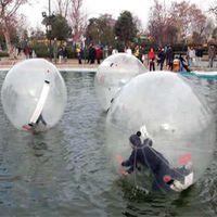 zorb ball tizip großhandel-Kostenloser Versand 1,8 mt Durchmesser Spielzeug Ball Mit TPU 1,0mm Und Deutschland TIZIP Reißverschluss Bunte Zorb Ball Wasser Ball
