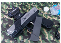 Wholesale Paintball Pistols - Free shipping 2017 G18 G17 antomatic firing Toy Gun Gel ball bullet toy guns water bullet Carbine pistol toys for Children cool gifts