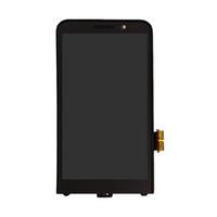 böğürtlen dokunmatik ekranlı sayısallaştırıcı toptan satış-Blackberry Z30 4G Sürüm için Çerçeve ile LCD Ekran Dokunmatik Ekran Digitizer Çerçeve Tam Meclisi