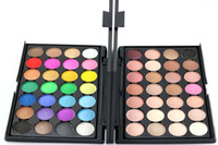 Wholesale 28 palette natural for sale - Factory Direct DHL New Makeup Eyes Popfeel Colors Eye Shadow Palette