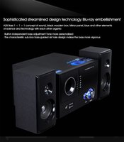 Wholesale Tv Box For China - Huabao A28 Speaker Multimedia Active Speakers Desktop PC Sound 2.1 Subwoofer card Bluetooth for TV Notebook Loudspeaker
