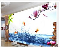 Cheap Sunflower Kitchen Decorations High Quality Customize Size Modern Popular 3d Stereo Sunflower Tv Wall