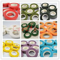 Wholesale Tape For Material - Wholesale- paper floral floriculture tape with small viscous for DIY silk flower material 12mm*30yards