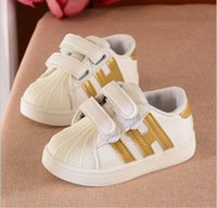 Wholesale Hot Sale Fashion baby Casual Shoes Superstar Female Sneakers kids Zapatillas Deportivas Mujer Lovers Sapatos Femininos
