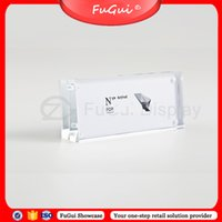 Wholesale Transparent Acrylic Board - Display Stand Advertising Screens Acrylic Scrub POP New Product Listing Billboards Transparent Card Board Fugui Showcase JY007A