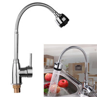 Wholesale faucets for kitchen - Wholesale- New Zinc Alloy Rotating Faucet 360 Degree Rotatable Hot Cold Mixer Tap Kitchen Wash Basin Faucets For Home Bathroom Tools