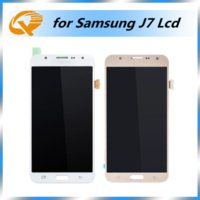 Wholesale Galaxy Touch Screen Digitizer - High Copy A+++ Quality for Samsung Galaxy J7 LCD Screen Display Touch Digitizer Repair Parts Replacement