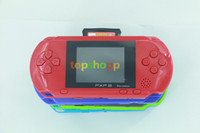 Wholesale Lcd Portable Game Console - High Quality Game Player PXP3(16Bit) 2.5 Inch LCD Screen Handheld Video Game Player Console 5 Colors Mini Portable TV Game in stock ship dhl