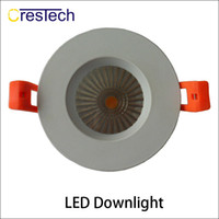 Wholesale Wholesale Lead Sinkers - Bridgelux COB LED chip Grid Downlihgt Aluminum housing and heat sinker For home office using indoor light