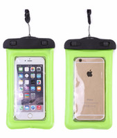 Wholesale Orange Smart Cell Phone - Universal Waterproof Mobile Phone Bag Case Clear PVC Sealed Underwater Cell Smart Phone Dry Pouch Cover Swimming Diving for iphone,samsung
