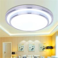 led 110v surface mounted flush mount lights led 18w bathroom kitchen light round simple modern diameter