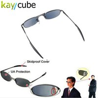 Wholesale Spy Rear View Sunglasses - Rear Mirror View Rearview Behind Spy Sunglasses Monitor and look like an ordinary pair of sun glasses Anti-Track UV Protection