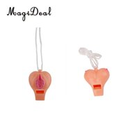 Wholesale Plastic Pussy - MagiDeal Funny Hen Stag Novelty Plastic Whistle Pussy Boob Shape Hens Night Party Favors Gifts