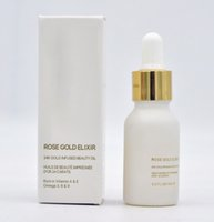 Wholesale Hot New Fragrance - HOT NEW Brand Makeup 24k Rose Gold Elixir 15ml Essential Oil Fragrance & Deodorant DHL Free