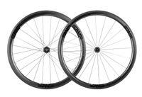 ingrosso freno bicicletta u-3K TWILL superficie pista del freno Superlite 38mm 700c Carbon Tubular Road Bike Ruote 23mm 25mm Larghezza U Shape 20 / 24H