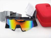 Wholesale Base Bicycle - 2017 Brand 100% SpeedCraft Base Outdoor Sports Bicycle Sunglasses bicicleta Gafas ciclismo Cycling Glasses Eyewear 2 lens UV400