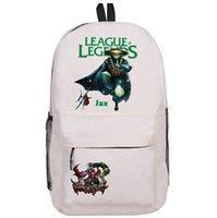 Wholesale Cartoon Arms - Jax backpack Lol Grandmaster at Arms day pack League of Legends school bag Game rucksack Sport schoolbag Outdoor daypack