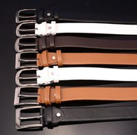 Wholesale Wholesale Leather Belts For Men - Belt top quality brand buckle designer belts luxury belts for men alloy buckle belt men and women waist leather belt free DHL