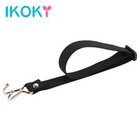 Wholesale toy training sex - IKOKY Nose Hook SM Bondage Unisex Elastic Strap Adult Product Force Rise Slave Training Sex Toy for Couples Role Playing