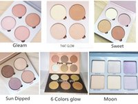 Wholesale Sweet Pink - 2016 Pink Glow Kit ULTIMATE GLOW kit Makeup Face Blush Powder Blusher Palette Cosmetic Gleam That Glow Sun Dipped Sweets ULTIMATE GLOW Moon