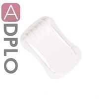kamerahalterclip großhandel-Wholesale-Kamera Objektivdeckel Clip Holder Neck Strap Keeper Schnalle U-Clip Fit 40.5-77mm weiß