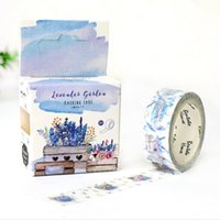 Wholesale Deco Paper Vintage - Wholesale- 2016 15mm X 7m Vintage PROVENCE Lover Song Japones Adesivos Decorative Tapes Colored Scotch Deco Paper Masking Washi Tape Stick
