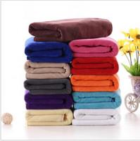 Wholesale Cleaning Beauty Sheet - Microfiber Hair Dry Towels Beauty Salon Drying Washcloth Soft Swimwear Shower Towel Body Wrap Bathroom Clean Towels Bath Sheet KKA1314