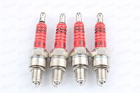 4pc Spark Plug A7TC C7HA C7HSA per 50cc - 90cc 125cc 110cc ATV Scooter Pit Dirt Bike Ciclomotore Go Kart Quad GY6