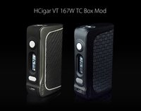 Wholesale Protection Monitoring - HCigar VT167 167W DNA Chipset TC Box Mod Ni Ti Support Cell by Cell Monitoring Auto Power Down Heat Protection Resistance Lock 100% Original