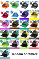 Wholesale fedex open - Sunshine Tents Outdoor Gear Hiking Camping Shelters 50+ UV Protection Tent for Beach Travel Lawn With Carry Bag Nail 10 pcs DHL Fedex