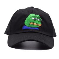 yeni emoji toptan satış-Kermit Tea Hat The Frog Sipping Drinking Tea Baseball Dad Visor Cap Emoji New Popular 6 Panel polos caps for men and women