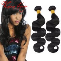 Armure de cheveux en malaisie 3 lots Vente Forme de corps Forme des cheveux Humains Cheap Virgin Indian Brazilian Mink Hair Weave for Wholesale