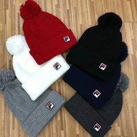 Wholesale Boys Choice - wholesale 100 design choices Unisex Autumn Winter brand Knitted hat Beanie skull caps boy girls hats women men