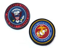 Wholesale Patches Sewn - VP-49 3D PVC Rubber Patches United States Marine Corps tactical Patch NAVY Tactical badge Tactical Forest Morale Patch sew on patch