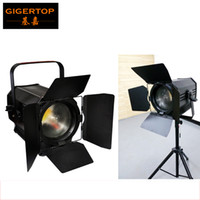 Wholesale Lamp Television - TIPTOP APOLLO 200 WFL ZOOMING White 3200k Film Television Professional Barndoor COB Led Lamp Germany Made Fresnel Lens Equipped