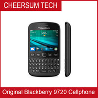 Wholesale Gsm Qwerty Keyboard - Unlocked BlackBerry 9720 Mobile Phone 2.8 inch Screen QWERTY Keyboard BlackBerry OS 7.1 GSM Network 5MP Camera Wifi Bluetooth