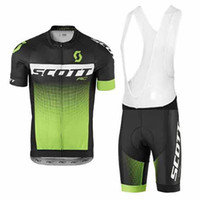 Wholesale Scott Clothes - SCOTT Men Cycling Jersey Bike Bicycle Short Sleeve Mountaion MTB Shirts Breathable Cycle clothing Ropa Ciclismo D1117