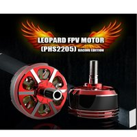 Wholesale 4pcs Leapord Hobby PHS2205 KV KV S S Racing Edition Motor for RC Airplane FPV Drone Quadcopter CW CCW