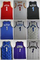 Wholesale T Cheap Basketball - Throwback Tracy McGrady Basketball Jerseys #1 T-Mac Tracy McGrady Retro Stitched Basketball Shirts MENS Cheap S-XXL