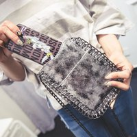 Wholesale Mobile Phone Bag Purse Wallet - Wholesale- Luxury Women Coin Purse Good Quality Stella Bag Silver Chain Lady Clutch Wallet Mobile Phone Small Shoulder Weave Bags bao bao