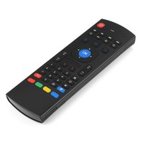 Wholesale Lenovo Mini Keyboard - MX3 Portable 2.4G Wireless Remote Control Keyboard Controller Air Mouse for Smart TV Android TV box mini PC HTPC V1100